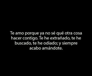 amor, frases, and siempre image