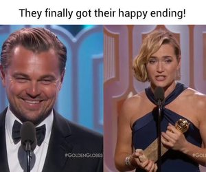 couple, Leo, and katewinslet image