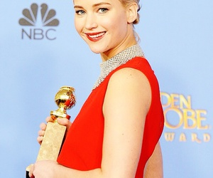 golden globes and Jennifer Lawrence image