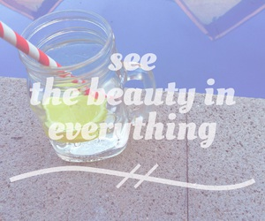 beauty, lifestyle, and typography image