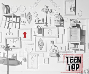 kpop, red point, and teen top image
