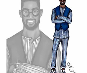 illustrations, menswear, and haydenwilliams image
