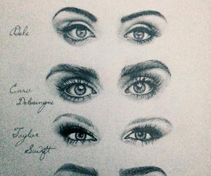 art, eyes, and lana del rey image