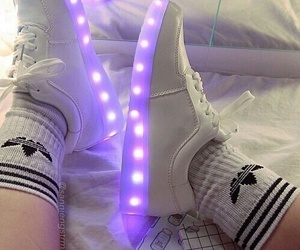 adidas, shoes, and light image