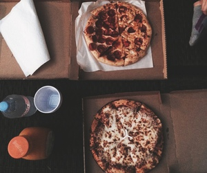 pizza, food, and indie image