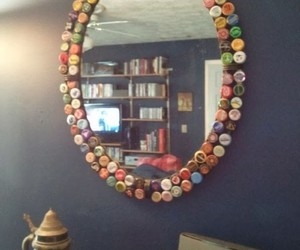 diy projects, bottle cap crafts, and recycled bottle caps image