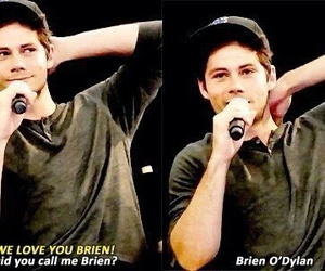 dylan o'brien, teen wolf, and funny image