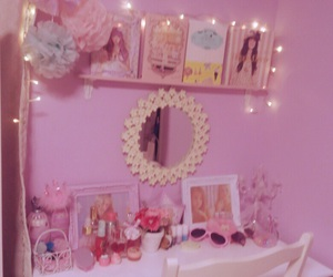 pink, room, and fairy image