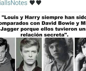 david bowie, mick jagger, and larry image