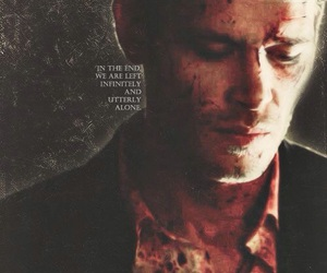 klaus mikaelson, blood, and vampire image