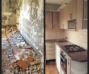 before after, kitchen, and konyha image