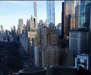 city, coffee, and new york image
