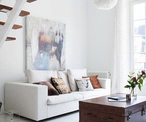 art, chic, and cosy image