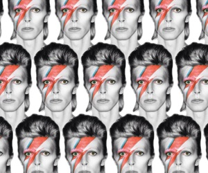 background, bowie, and david image