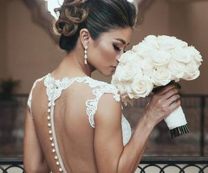 flowres, spring, and wedding image