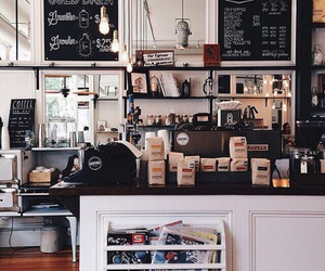coffee, cafe, and shop image