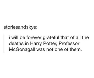 harry potter, professor, and mcgonnagal image