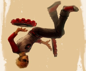 anime, homestuck, and dave strider image