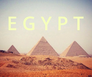 egypt, pyramids, and triangles image