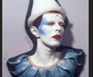 ashes to ashes, clown, and major tom image