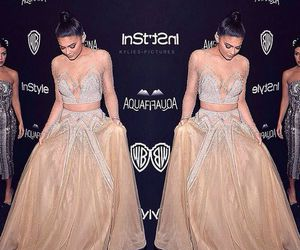 kylie jenner, fashion, and golden globes image
