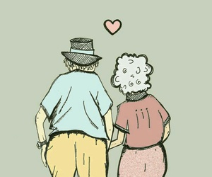 love, old, and forever image