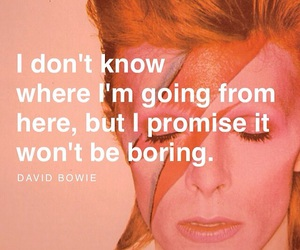 david bowie, quote, and music image