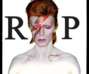 bowie, rest in peace, and rip image