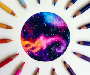 art, artistic, and color image