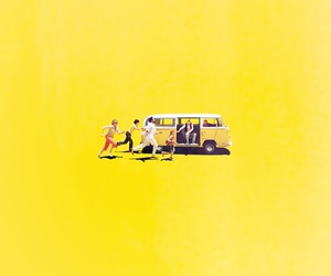 little miss sunshine, yellow, and movie image