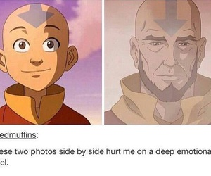 avatar, feels, and aang image