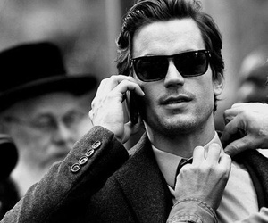 matt bomer, Hot, and black and white image