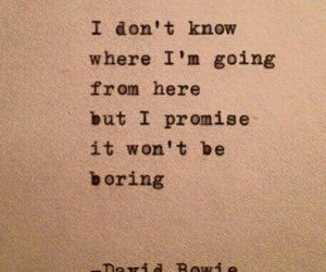 celebrity, david bowie, and quote image