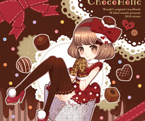 chocolate and cute image