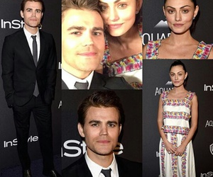 paul wesley, phoebe tonkin, and perfects image