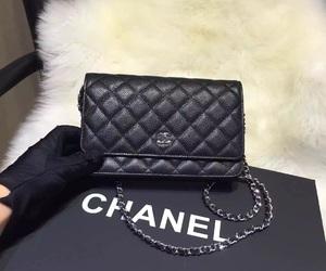 fashion woc bag, caviar leather woc, and calfskin woc bag image