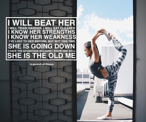 beautiful, confident, and exercise image