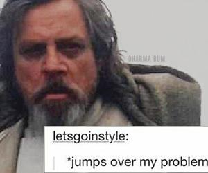 lol, luke skywalker, and star wars image