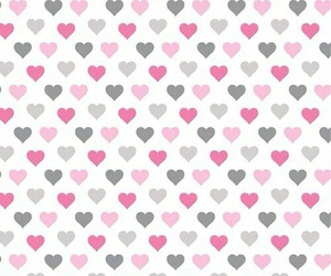 pink, wallpaper, and heart image