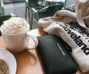 coffee, food, and Michael Kors image
