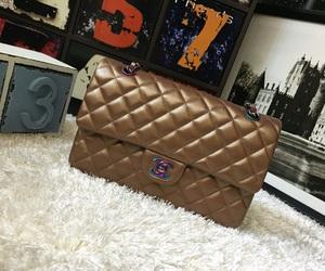 fashion flap bag and cc luxury handbag image