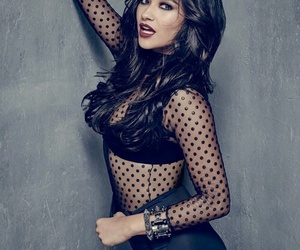 black, photoshoot, and pretty little liars image