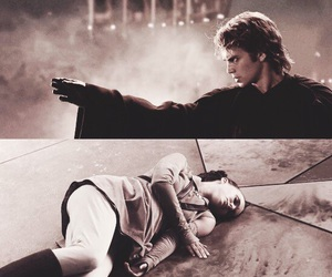 Anakin Skywalker, darth vader, and star wars image