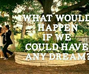 Dream, Lyrics, and song image