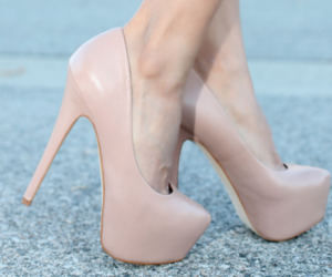 heels, shoes, and K image