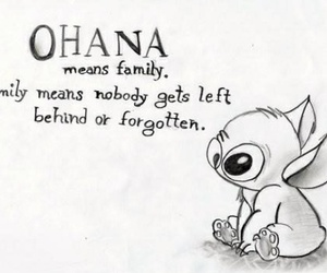 family, ohana, and cute image