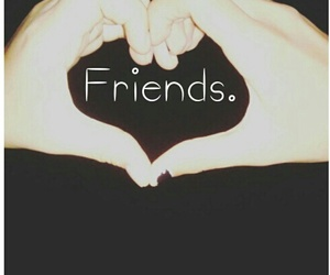 forever, happy, and friends image