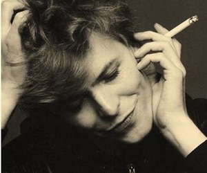 david bowie, bowie, and cigarette image