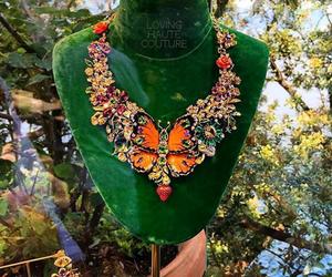 borboleta, girl, and green image