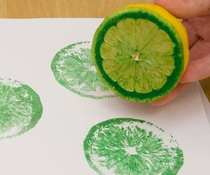 diy, lemon, and green image